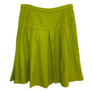 Dolce & Gabbana Green A-Line Skirt