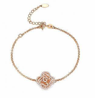 Fei Lu floral cascade bracelet