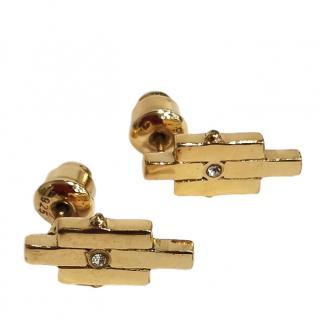 Charlotte Valkeniers Matrix Stud Earrings