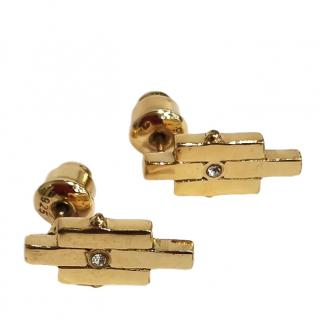 Charlotte Valkeniers Matrix Stud Earrings