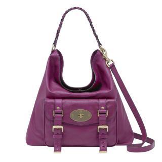 Mulberry Purple Alexa Hobo Bag