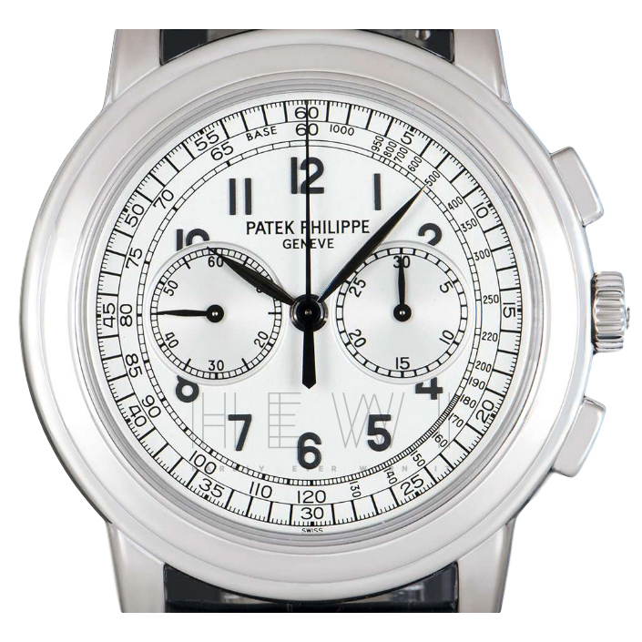 Patek Philippe Chronograph 5070G-001 White-Gold Watch