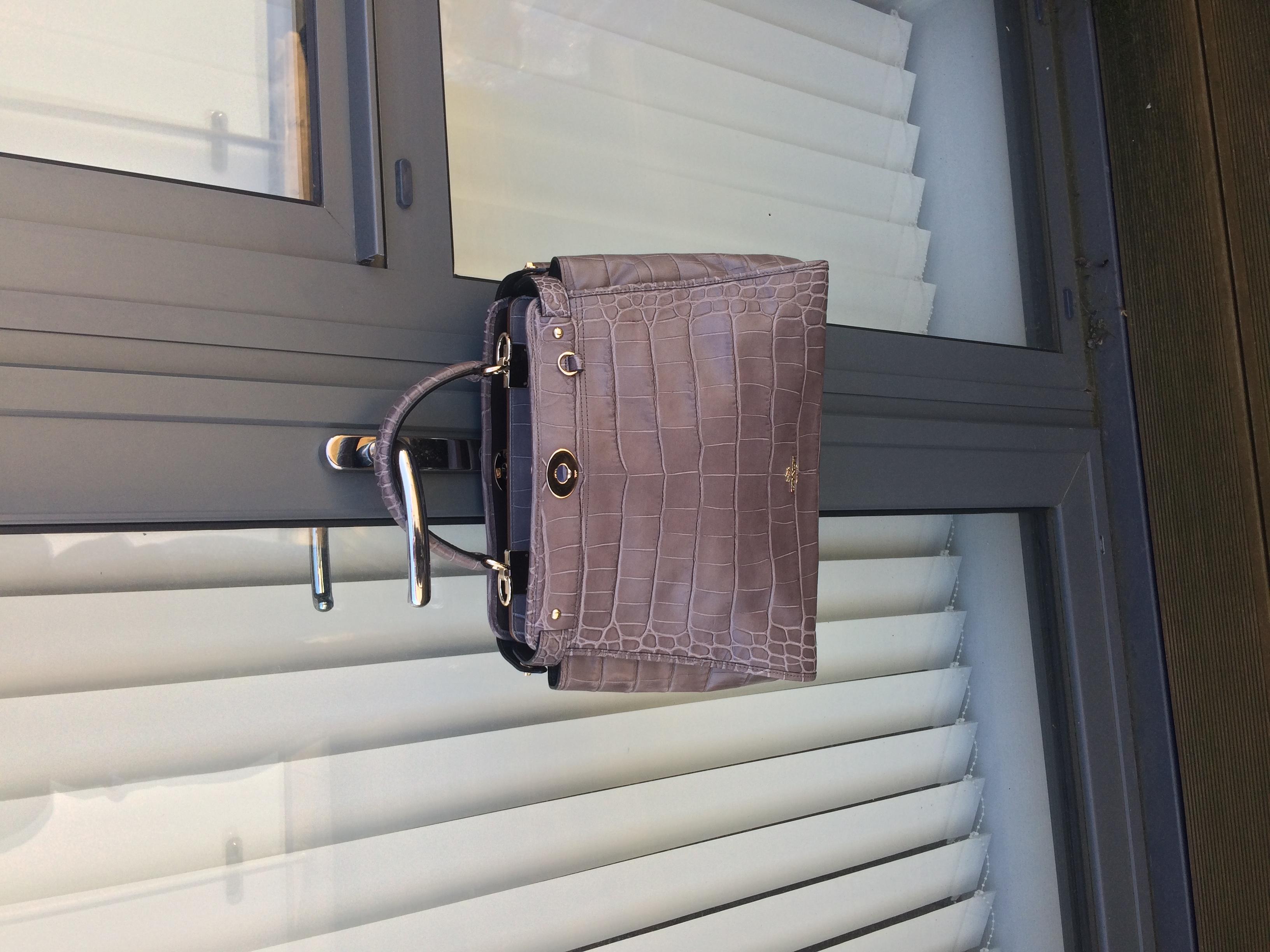 Coach limited edition mink Gramercy satchel