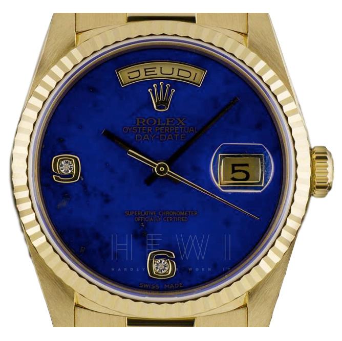 Rolex Day Date 18k Yellow-Gold Watch