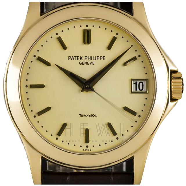 Patek Philippe x Tiffany & Co. Calatrava Watch