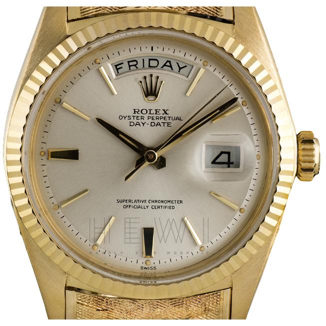 Rolex Day Date Vintage 1803 18k Yellow-Gold Watch