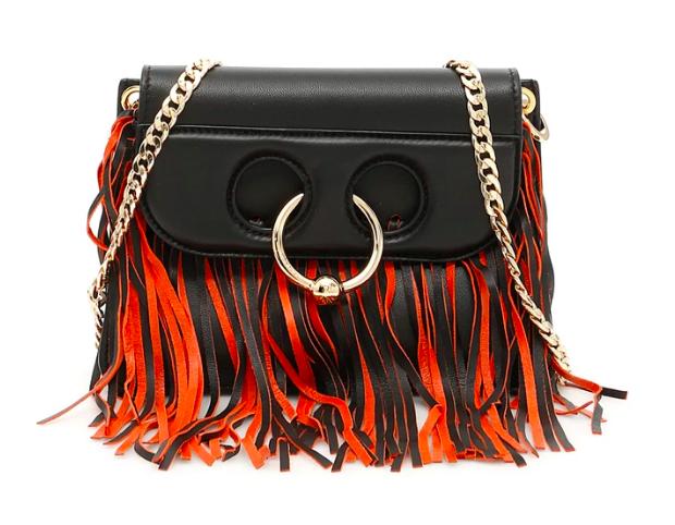 J.W. Anderson Mini Pierce Fringed Leather Bag