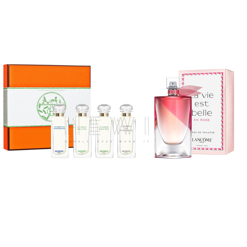 Hermes La Collection Des Parfums Jardins & Lancome Eau de Toilette Set
