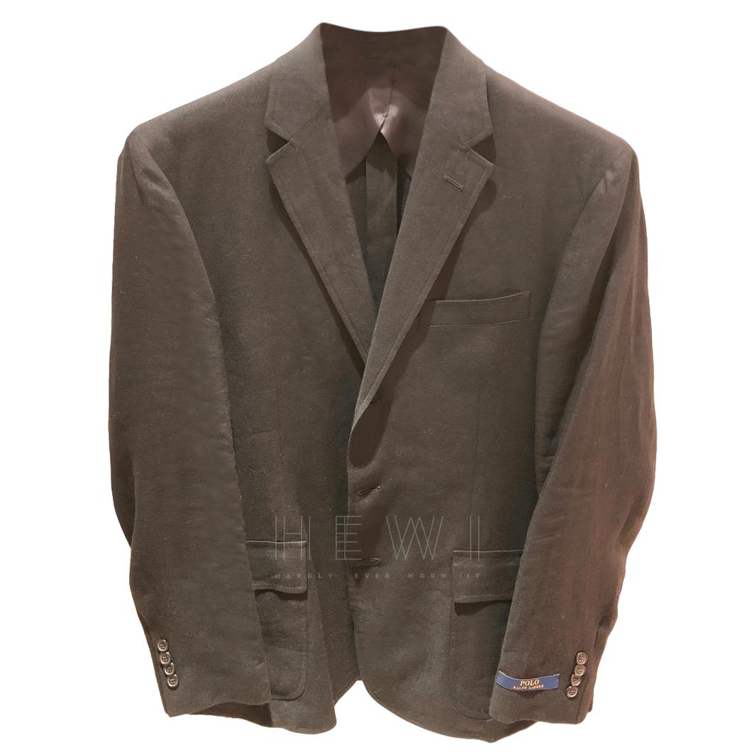 Ralph Lauren Polo Single Breasted Fine Linen Blazer