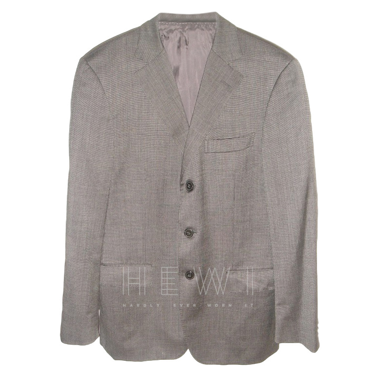 Ermenegildo Zegna Single Breasted Wool Blazer