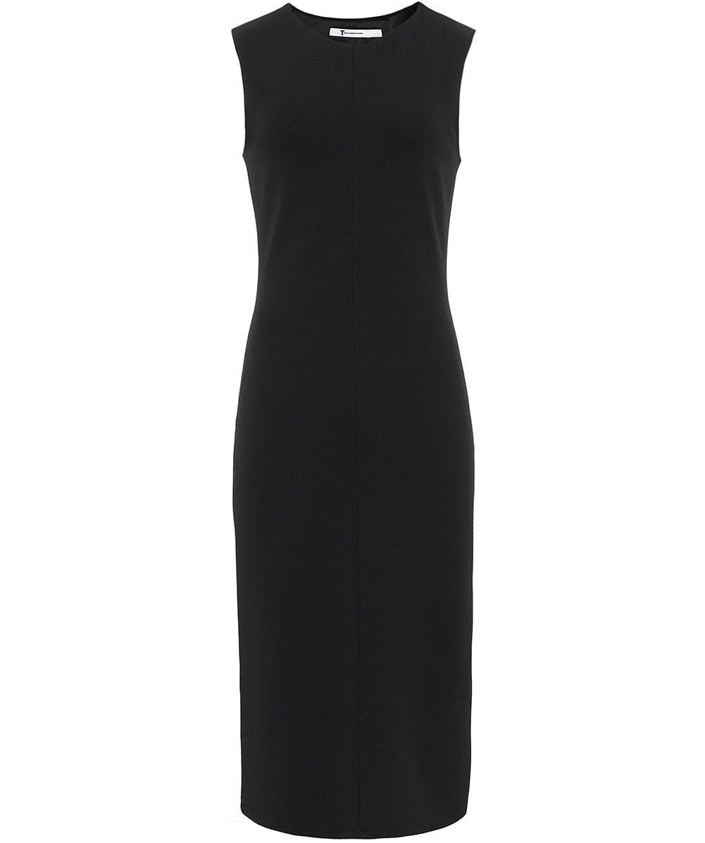 T by Alexander Wang Centre-Seam Black Sleeveless Dress
