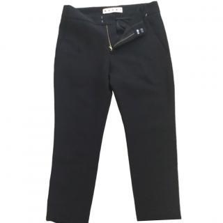 Marni Black Slim-Fit Trousers