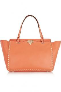 Valentino Rockstud Organe Leather Tote Bag
