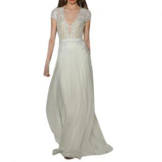 Reem Acra Lace & Tulle Wedding Dress