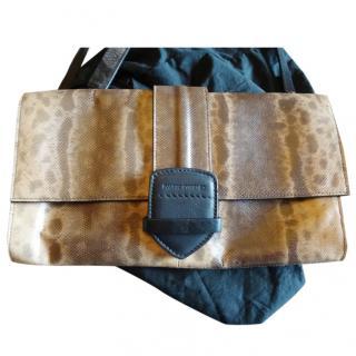 Pauric Sweeney lizard skin clutch bag