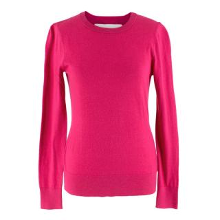 Michael Michael Kors Fuchsia Open Back Sweater
