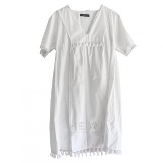 Weekend MaxMara Pompom-Trimmed Dress