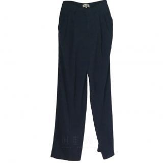 Paul & Joe Straight-Leg Crepe Trousers