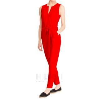 Lauren Ralph Lauren Red Nadalia Jumpsuit