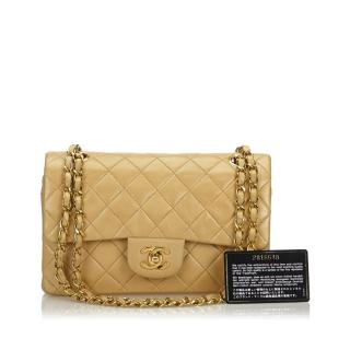 Chanel Classic Double-Flap Small Quilted Lambskin Bag