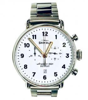Shinola Runwell Chrono Argonite 5021 watch