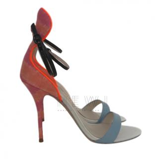 Sophia Webster Fabric & Leather Sandals