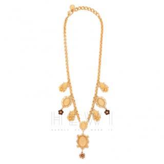 Dolce & Gabbana Maria Pendant-Embellished Necklace
