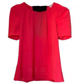 Claude Peirlot Tie-Back Pink Top