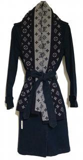 Louis Vuitton Divide Monogram Cashmere scarf