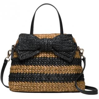 Kate Spade York Rollins Street Maise Raffia Bag