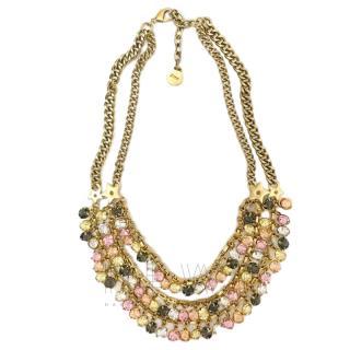Dior Nuance Multi-Strand Crystal Necklace