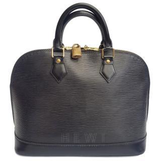 Louis Vuitton Epi Leather Black Bag