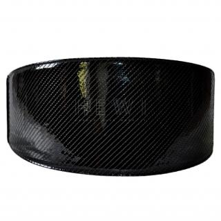 Saint Laurent Wide Black Patent Leather Waist Belt