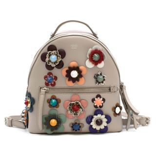 Fendi Mini Floral Appliqu� Backpack