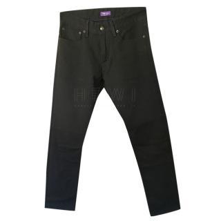 Ralph Lauren Black Slim-Fit Jeans