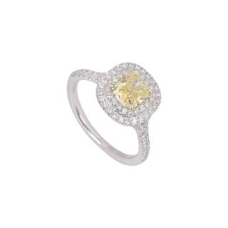 Tiffany & Co. Soleste Yellow Diamond Ring
