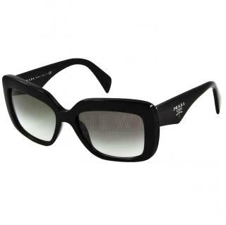 Prada black square sunglasses