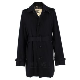 Burberry Quintessential Black Trench Coat