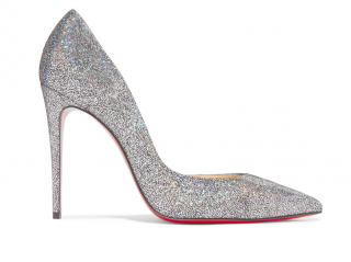 Christian Louboutin Iriza 100 Glitter Disco Ball Pumps
