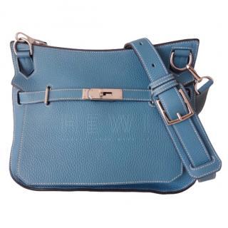 Herm�s Jypsiere Agate Leather Cross-Body Bag