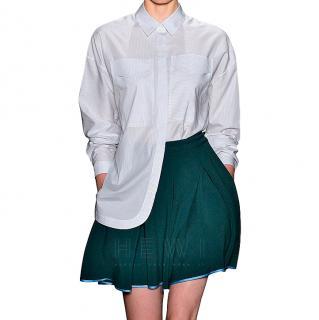 Ostwald Helgason Green A-line Skirt