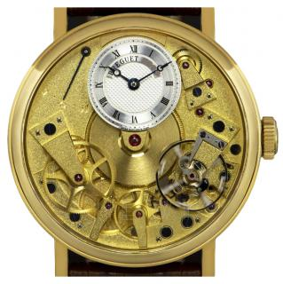 Breguet La Tradition Skeleton-Dial 18k Gold Watch