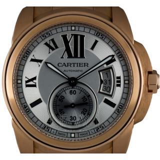 Cartier Calibre De Cartier W7100018 Rose-Gold Watch