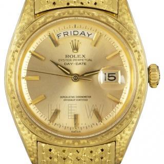 Rolex Vintage Day Date 18k Yellow-Gold Watch