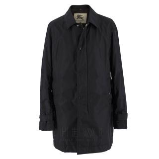 Burberry Black Waterproof Car Coat