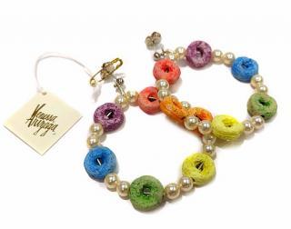 Vanessa Arizaga Candy Hoop Earrings