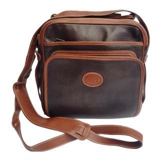 Gucci Vintage Leather Messenger Bag