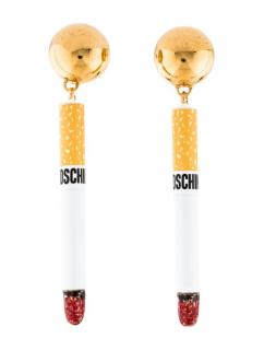 Moschino  Gold Metal Clip
