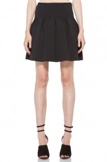 T by Alexander Wang Neoprene Pleated Mini Skirt