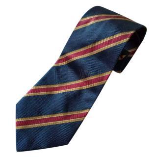 Kenzo Striped-Jacquard Tie